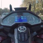 Honda Gold wing GL-1800 панель приборов