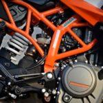 KTM RC 390 рама и коробка