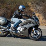 Yamaha-фото в движении сбоку